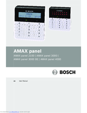 Bosch AMAX panel 3000 BE User Manual