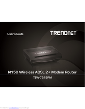 Driver for TRENDnet TEW-722BRM Router