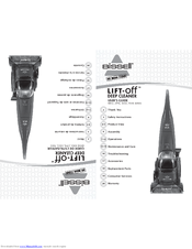Bissell Lift-Off 27F6 Series User Manual