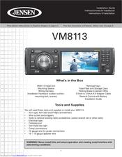 jensen vm8113 manuals rh manualslib com Clip Art User Guide Example User Guide