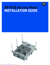 Motorola AP-8132 Installation Manual