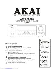 akai as110ra 320 manuals rh manualslib com Akai TV Manual LCT3285TA Akai Flat Screen TV