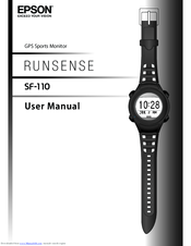Epson Runsense SF-110 User Manual