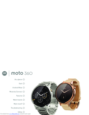 Motorola Moto 360 User Manual