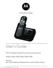motorola p1001 user manual pdf download rh manualslib com