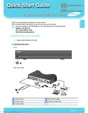 Samsung SDR-C75300 Manuals