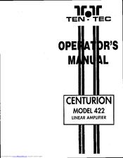 Ten-tec Centurion 422 Manuals