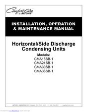 Comfort-aire CMA24SB-1 Manuals