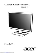 acer b286hk manuals rh manualslib com acer v193 monitor user manual acer predator monitor user manual