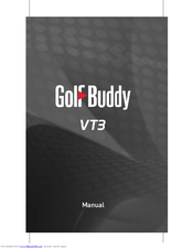Golf Buddy Tour User Manual