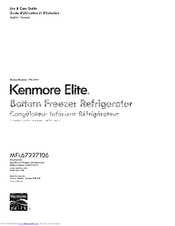 Kenmore 795.7303 Series Use & Care Manual