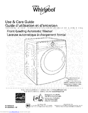 Whirlpool WFW97HEDW0 Use & Care Manual