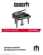 Gem genesys ensemble Manuals