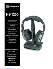 Amplicomms HS 1200 User Manual