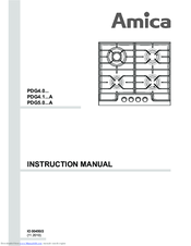 amica pdg4 0 series manuals rh manualslib com Whirlpool Oven Manual amica cooker instruction manual