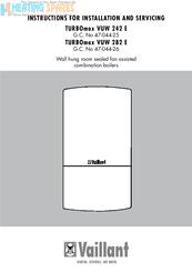 Vaillant turbomax vuw 242/1e 1998-2001 (12a control box (printed.