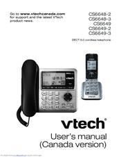 vtech cs6649 2 manuals rh manualslib com vtech cs6649 owners manual VTech DECT 6.0 User Manual
