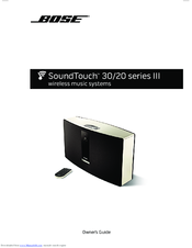 bose soundtouch 20 series iii manuals rh manualslib com SoundTouch Bose 10 bose soundtouch 10 user guide