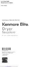 Kenmore 796.61412410 Use & Care Manual