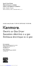 Kenmore 110.65132410 Use & Care Manual