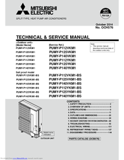 Mitsubishi Electric Pumy P140vkm1 Manuals
