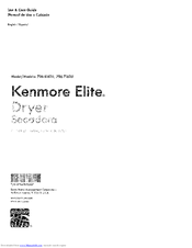 Kenmore 796.71623310 Use & Care Manual