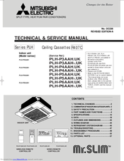Manuals And User Guides For Mitsubishi Electric Mr Slim Plh P3aah We Have 2 Available Free Pdf