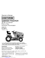 Craftsman 917.98644 Operator's Manual