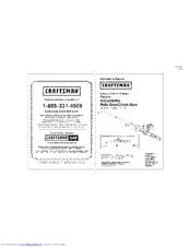 Craftsman 172.43983 Operator's Manual