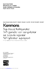 Kenmore 106.6216 Use & Care Manual