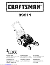 Craftsman 99211 Instruction Manual