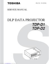 toshiba tdp d2 xga dlp projector manuals rh manualslib com Toshiba TV Service Manual Toshiba Laptop Repair Manual