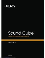 tdk sound cube manuals rh manualslib com tdk instruction manuals tdk life on record user manual