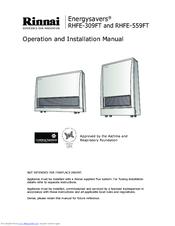 rinnai rhfe 559ft manuals rinnai rhfe 559ft operation and installation manual