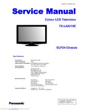 panasonic viera tx l42u10e manuals rh manualslib com panasonic television user guide panasonic tv user guide manual