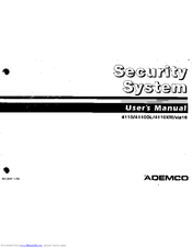 ademco 4110 user manual pdf download rh manualslib com Ademco Instruction Manuals ademco 4110xmp user manual
