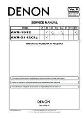 denon avr 1912e2 manuals rh manualslib com denon avr-1913 owners manual pdf denon avr 1913 service manual