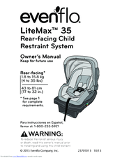 evenflo litemax 35 manuals rh manualslib com User Guide Template User Guide Template