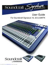 soundcraft signature 22 manuals. Black Bedroom Furniture Sets. Home Design Ideas