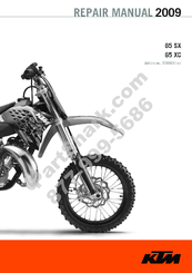 ktm 65 sx 2009 repair manual pdf download | manualslib  manualslib