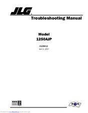 jlg 1250ajp manuals rh manualslib com Operators Manual JLG E450AJ JLG Boom Lift