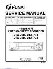 funai 21a 700 manuals rh manualslib com funai service manual downloads funai service manuals for fl