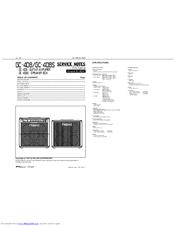 Roland GC-408S Manuals