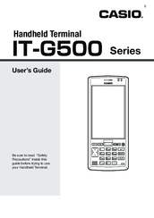 Casio IT-G500-C16E User Manual