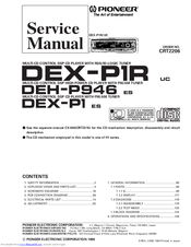 Pioneer dex p1 manuals manuals and user guides for pioneer dex p1 we have 2 pioneer dex p1 manuals available for free pdf download service manual connection manual cheapraybanclubmaster Gallery