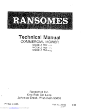 ransomes m48 manuals rh manualslib com bobcat ransomes mower manual ransomes mower parts uk
