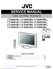 jvc interiart lt 26a61su manuals rh manualslib com jvc tv service manual pdf JVC TV Owners Manuals