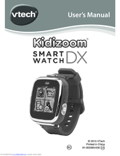 vtech kidizoom smartwatch dx manuals rh manualslib com vtech kidizoom twist user manual vtech kidizoom action cam instruction manual