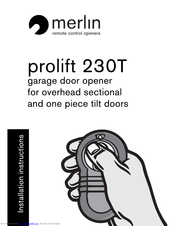 Manuals And User Guides For Merlin Prolift 230t We Have 3 Available Free Pdf Installation Instructions Manual
