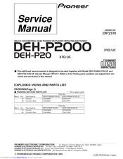 pioneer deh p20 manual user manual guide \u2022 pioneer deh-3300ub wiring-diagram pioneer deh p20 manuals rh manualslib com pioneer deh p20 manual pioneer deh p 2000 wiring diagram